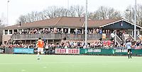 LAREN - Het clubhuis van de hockeyclub Laren, zondag tijdens de hoofdklasse competitiewedstrijd mannen tussen Laren en Bloemendaal (1-4). COPYRIGHT KOEN SUYK