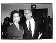 Rebecca Glenn and Larry Gagosian. NY. 1992. © Copyright Photograph by Dafydd Jones 66 Stockwell Park Rd. London SW9 0DA Tel 020 7733 0108 www.dafjones.com