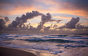 morning at the ocean in Fort Lauderdale, Florida