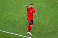 Haris Seferovic of Switzerland celebrating his goal during the UEFA Euro 2020, Group A football match between Switzerland and Turkey on June 20, 2021 at Baku Olympic Stadium in Baku, Azerbaijan - Photo Orange Pictures / ProSportsImages / DPPI