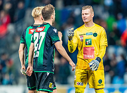 17.03.2019, Tivoli Stadion Tirol, Innsbruck, AUT, 1. FBL, FC Wacker Innsbruck vs FC Red Bull Salzburg, 22. Runde, im Bild v.l. Bryan Henning (FC Wacker Innsbruck), Christian Klem (FC Wacker Innsbruck), Christopher Knett (FC Wacker Innsbruck) // during the tipico Bundesliga 22th round match between FC Wacker Innsbruck and FC Red Bull Salzburg at the Tivoli Stadion Tirol in Innsbruck, Austria on 2019/03/17. EXPA Pictures © 2019, PhotoCredit: EXPA/ Stefan Adelsberger