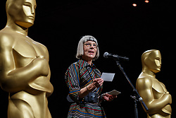 Academy's Awards and Events Committee chair, Lois Burwell during the Academy's Governors Ball preview for the 91st Oscars® on Friday, February 15, at the Ray Dolby Ballroom in Hollywood.