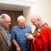 30.05. 2017.                                             <br /> Limerick Museum opened the doors to its new home at the former Franciscan Friary on Henry Street in the heart of Limerick city, dedicated to the memory of Jim Kemmy, the former Democratic Socialist Party and Labour Party TD for Limerick East and two-time Mayor of Limerick.<br /> <br /> Pictured at the opening of the new Museum were, Joe Harnett, Jimmy O'Hanlon and Mayor of Limerick Cllr. Kieran O'Hanlon.<br /> <br /> The museum will house one of the largest collections of any Irish museum. Picture: Alan Place