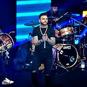 Juggy D preforms at the BritAsiaTV Presents Kuflink Punjabi Film Awards 2019 at Grosvenor House, Park Lane, London,United Kingdom. 30 March 2019