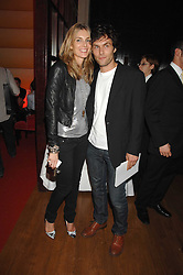 KIM HERSOV and BARRY REIGATE at a party hosted by gallery Haunch of Venison to celebrate Harry Blain's 40th birthday held at Sketch, 9 Conduit Street, London W1 on 10th October 2007.<br /><br />NON EXCLUSIVE - WORLD RIGHTS