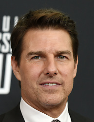 Tom Cruise poses for a picture during the U.S Premiere of 'Mission: Impossible - Fallout' at the National Air and Space Museum on July 22, 2018 in Washington, DC. Photo by Olivier Douliery/ Abaca Press