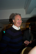 NIGEL PLANER, The Actors Centre's 30th Birthday Party. 1a Tower St, Covent Garden. London. 2nd November<br />