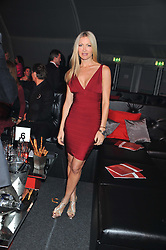 CAPRICE BOURRET at the inaugural Gabrielle's Gala in London in aid of Gabrielle's Angel Foundation for Cancer Research held at Battersea Power Station, London on 7th June 2012.