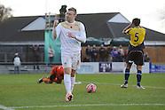 Gosport Borough v Colchester United 091114