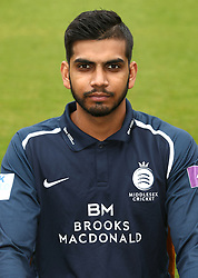 Middlesex's Ravi Patel during the media day at Lord's Cricket Ground, London.
