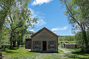 Governor's Mansion at Bannack State Park.
