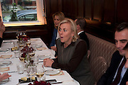 ;COUNTESS DORA  DELLA GHEREDESCA. Graydon and Anna Carter host a lunch for Carolina Herrera to celebrate the ipening of her new shop on Mount St. .The Connaught. London. 20 January 2010