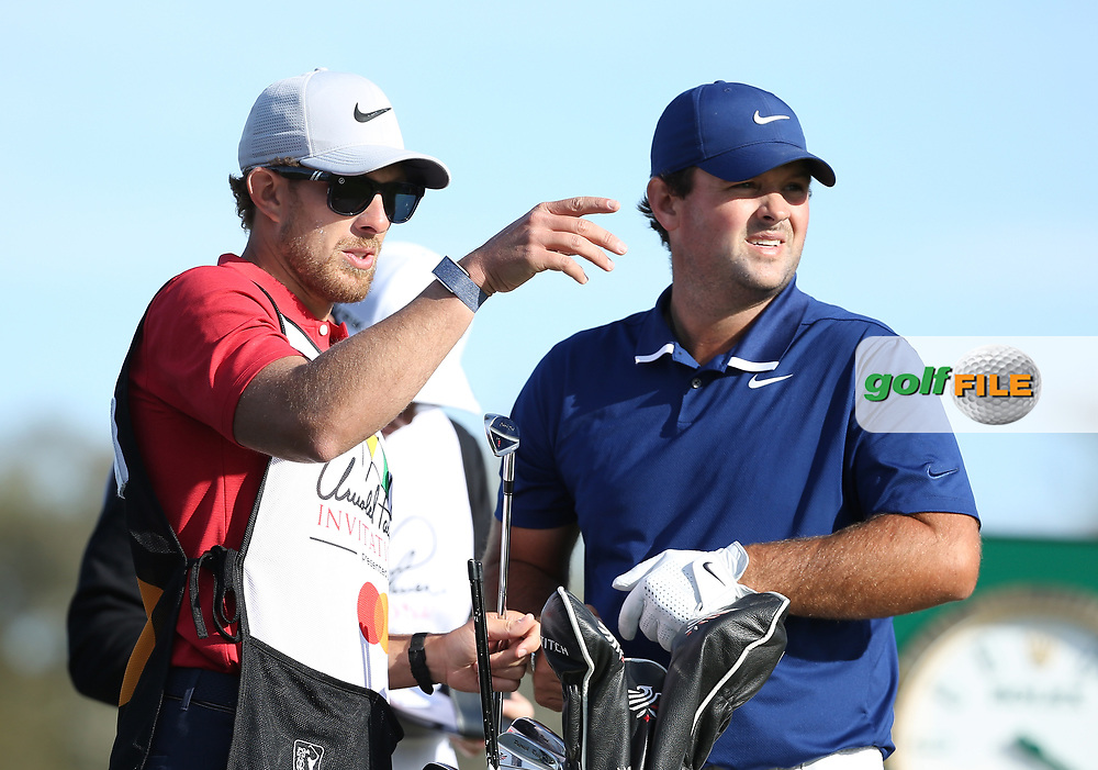 Patrick Reed (USA) during the 3rd round of the Arnold Palmer Invitational presented by Mastercard, Bay Hill, Orlando, Florida, USA. 07/03/2020.<br /> Picture: Golffile | Scott Halleran<br /> <br /> <br /> All photo usage must carry mandatory copyright credit (© Golffile | Scott Halleran)