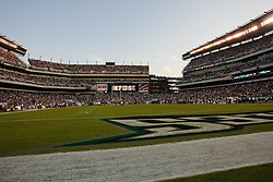 21 Sept 2008: Lincoln Financial Field during the Philadelphia Eagles game against the Pittsburgh Steelers on September 21st, 2008.  The Eagles won 15-6 at Lincoln Financial Field in Philadelphia Pennsylvania. (Photo by Brian Garfinkel)