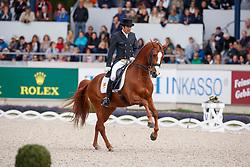 Castilla Ruiz, Claudio (ESP), Alcaide<br /> Aachen - CHIO 2017<br /> Grand Prix Kür, Grosser Dressurpreis von Aachen<br /> © www.sportfotos-lafrentz.de/Stefan Lafrentz