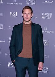 WSJ Magazine 2018 Innovator Awards Museum of Modern Art, NY. 07 Nov 2018 Pictured: Alexander Skarsgard. Photo credit: RCF / MEGA TheMegaAgency.com +1 888 505 6342