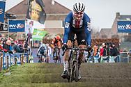 2019-12-27 Cycling: dvv verzekeringen trofee: Loenhout: Christmas time, is USA time. Lane Mahre pictured in Loenhout