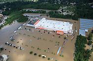 Aug 15, Flooding Home Depot in Denham Springs, in Livingston Parrish Louisiana.