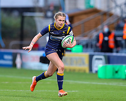 Vicky Laflin of Worcester Warriors Women  - Mandatory by-line: Nick Browning/JMP - 14/11/2020 - RUGBY - Sixways Stadium - Worcester, England - Worcester Warriors Women v Loughborough Lightning - Allianz Premier 15s
