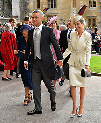 Guests arrive for the wedding of Princess Eugenie to Jack Brooksbank at St George's Chapel in Windsor Castle. 12 Oct 2018 Pictured: Robbie Williams and Ayda Field. Photo credit: WPA POOL / MEGA TheMegaAgency.com +1 888 505 6342