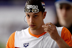 10-04-2014 NED: NK Swim Cup, Eindhoven<br /> Joeri Verlinden, 50m vlinder