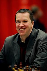 18-01-2009 SCHAKEN: CORUS CHESS: WIJK AAN ZEE<br /> Nigel Short ENG <br /> ©2009-WWW.FOTOHOOGENDOORN.NL