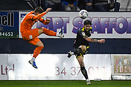 AFC Wimbledon Midfielder Anthony Wordsworth (40) during the EFL Sky Bet League 1 match between Luton Town and AFC Wimbledon at Kenilworth Road, Luton, England on 23 April 2019.
