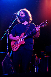 Jerry Garcia with The Grateful Dead Live at Huntington West Virginia 16 April 1978. Stubborn dust will removed. A tedious job.
