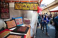At the Sunday market of  Usaquen