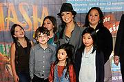 Prinses Maxima en haar drie dochters bij premiere Fantasia de Muisical<br /> <br /> Op de foto:  Cystine  Carreon