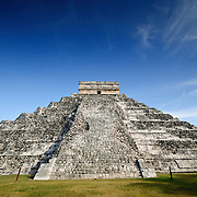 El Castillo (also known as Temple of Kuklcan) at the ancient Mayan ruins at Chichen Itza, Yucatan, Mexico 081216091954_1896.NEF