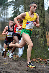 27-11-2011 ATLETIEK: NK CROSS 53e WARANDELOOP: TILBURG<br /> Khalid Choukoud die zijn cross-titel prolongeerde in 30:42.<br /> ©2011-FotoHoogendoorn.nl