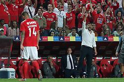 October 7, 2018 - Lisbon, Portugal - Porto's head coach Sergio Conceicao reacts during the Portuguese League football match SL Benfica vs FC Porto at the Luz stadium in Lisbon on October 7, 2018. (Credit Image: © Pedro Fiuza/NurPhoto/ZUMA Press)