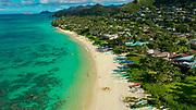 Lanikai Beach, Kailua, Oahu, Hawaii, USA