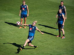 July 4, 2018 - Gelendzhik, Russia - 180704 Filip Helander of the Swedish national football team at a practice session during the FIFA World Cup on July 4, 2018 in Gelendzhik..Photo: Petter Arvidson / BILDBYRN / kod PA / 92081 (Credit Image: © Petter Arvidson/Bildbyran via ZUMA Press)