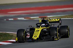 February 28, 2019 - Montmelo, Spain - DANIEL RICCIARDO of Renault F1 Team during the 2019 FIA Formula 1 World Championship pre season testing at Circuit de Barcelona-Catalunya in Montmelo, Spain. (Credit Image: © James Gasperotti/ZUMA Wire)