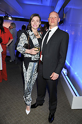 CAMILLA RUTHERFORD and DOMINIC BURNS at a VIP dinner hosted by Maserati following the unveiling of the new Maserati 'Quattroporte' at The Hurlingham Club, London on 17th April 2013.