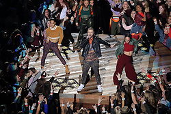 February 4, 2018 - Minneapolis, MN, USA - Justin Timberlake performs during the Super Bowl halftime show Sunday, Feb. 4, 2018 in Minneapolis, Minn. (Credit Image: © Elizabeth Flores/TNS via ZUMA Wire)