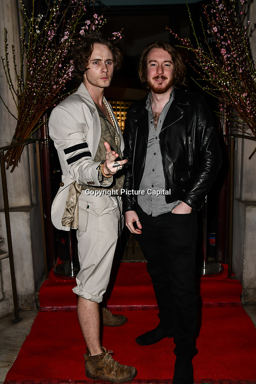 Jack McEvoy attend Travel bag brand hosts the launch of its exclusive luxury collection of handbags in collaboration with model and designer Anastasiia Masiutkina  D'Ambrosio on 26 March 2019, Caviar House & Prunier 161 Piccadilly, London, UK.