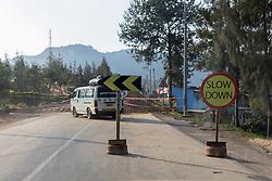 Detour In Road