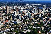 Western View of Portland Skyline