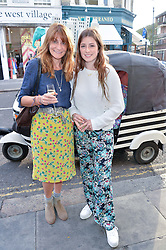 Left to right, VICTORIA PILKINGTON and her daughter JESSE PILKINGTON at a party to launch Biscuiteers Fashion Biscuit Collection inspired by Alice Naylor-Leyland's wardrobe held at Biscuiteers, 194 Kensington Park Road, London W11 on 23rd June 2015.