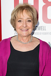 © Licensed to London News Pictures. 18/06/2015. London, UK. Margaret Hodge arrives at the press night for 1984 at the Playhouse Theatre, Northumberland Avenue in London tonight. Photo credit : Vickie Flores/LNP