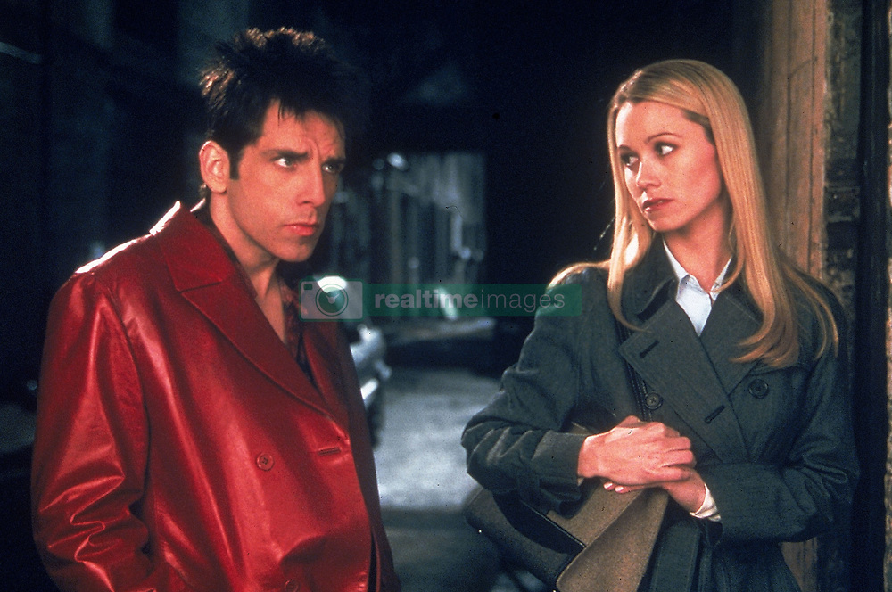 RELEASE DATE: September 28, 2001. MOVIE TITLE: Zoolander. STUDIO: Paramount Pictures. PLOT: At the end of his career, a clueless fashion model is brainwashed to kill the Prime Minister of Malaysia. PICTURED: BEN STILLER as Derek Zoolander and CHRISTINE TAYLOR as Matilda Jeffries. (Credit Image: © Entertainment Pictures/Entertainment Pictures/ZUMAPRESS.com)