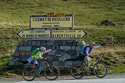 16-09-2017 FRA: BvdGF Tour du Mont Blanc day 7, Beaufort<br /> De laatste etappe waar we starten eindigen we ook weer na een prachtige route langs de Mt. Blanc / Marion, Nicole