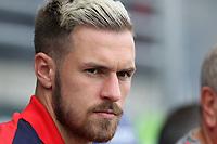 Fotball , 5. august 2016 , privatkamp , Viking - Arsenal<br />Aaron Ramsey of Arsenal before the game<br />Foto: Andrew Halseid Budd , Digitalsport