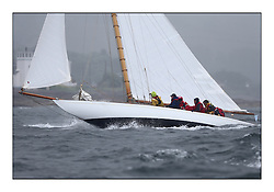 Day two of the Fife Regatta,Passage race to Rothesay.<br /> The Truant, Ross Ryan, GBR, Gaff Cutter 8mR, Wm Fife 3rd, 1910<br /> <br /> * The William Fife designed Yachts return to the birthplace of these historic yachts, the Scotland's pre-eminent yacht designer and builder for the 4th Fife Regatta on the Clyde 28th June–5th July 2013<br /> <br /> More information is available on the website: www.fiferegatta.com