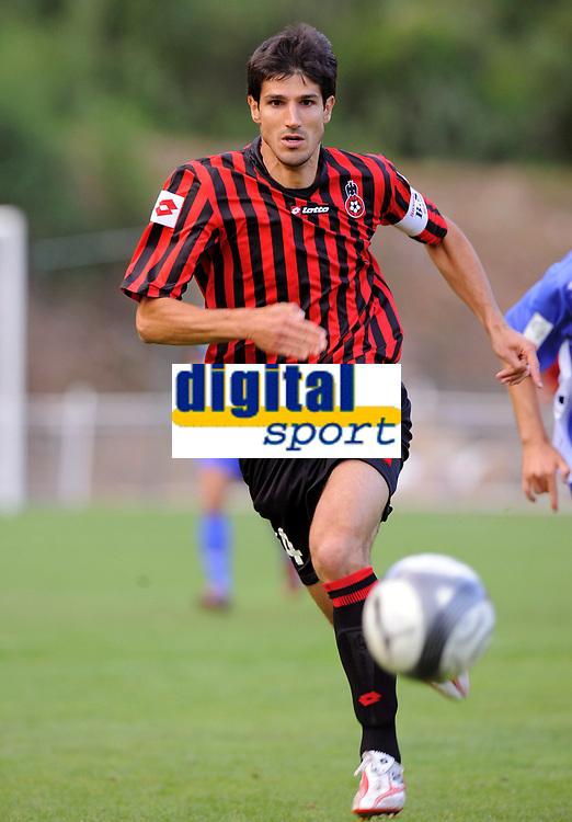 Fotball<br /> Frankrike<br /> Foto: DPPI/Digitalsport<br /> NORWAY ONLY<br /> <br /> FOOTBALL - FRIENDLY GAMES 2009/2010 - OGC NICE v SC BASTIA - 08/07/2009<br /> <br /> GERALD CID (NICE)