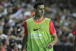 August 20, 2018 - Kalinic of Atletico de Madrid in action during the spanish league, La Liga, football match between ValenciaCF and Atletico de Madrid on August 20, 2018 at Mestalla stadium in Valencia, Spain. (Credit Image: © AFP7 via ZUMA Wire)