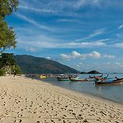Empty Sunrise beach, Ko Lipe, Thailand